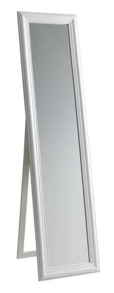 Påklædningsspejl MONETT 40x160cm hvid | JYSK