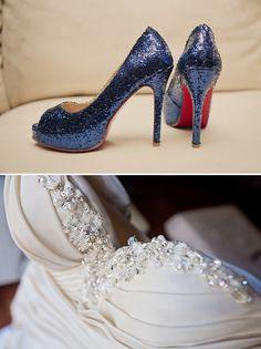Blue and White Wedding Ideas - Historic Rice Mill wedding in Charleston, South Carolina