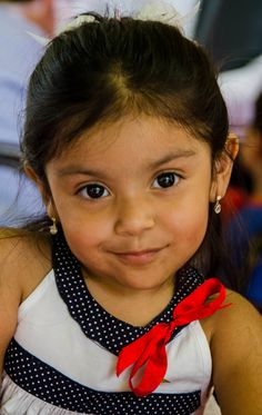 Girl from Oaxaca, Mexico.