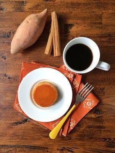Sweet potato flan recipe.