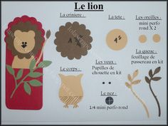 Lolascrap et compagnie: Tuto punch art : animaux de la savane. Yes, the instructions are in French, but this is too cute not to save.