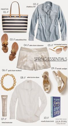 Pawleys Island Posh: Outfit Obsessed: White Shorts