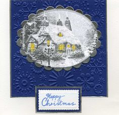 Thomas Kincade card christma card, kincad card