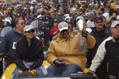 "Jerome ""The Bus"" Bettis Super Bowl XL Parade"