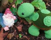Wandering Turtle crochet pattern PDF