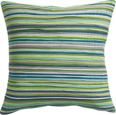 "jersey stripes 18"" pillow  