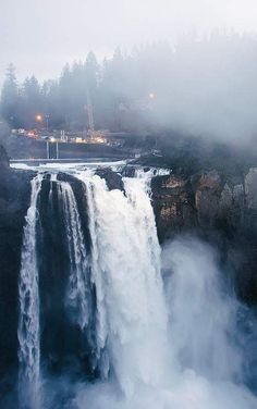 Snoqualmie Falls, Washington I've been here its awesome :)