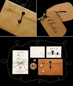 There's something so simple and refined about this design. Love it! #invitations