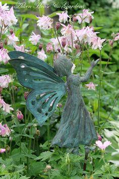 <3_ all kinds of garden fairies are a favorite too    Aiken House & Gardens
