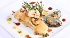 'Bacalhau com mexilhão,gambas e ameijoa' - cod with mussels, prawns and clams, an appetizing suggestion @ilhamar.com.