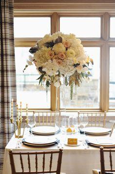 Tall Cream and Blush Floral Arrangement