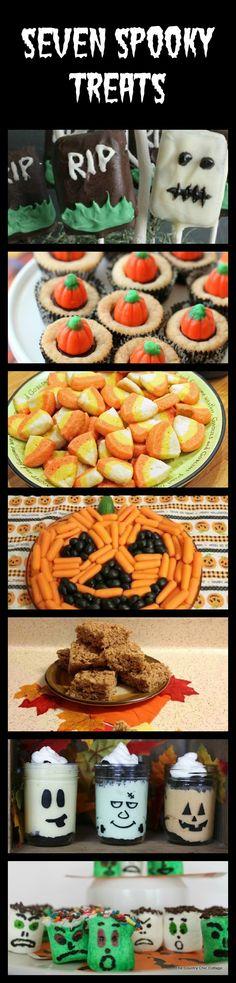 Seven Spooky Treats for Halloween