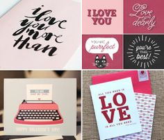 Free, printable Valentines Day cards - How About Orange