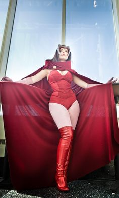 Scarlet Witch Cosplay [Pic]