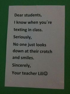 I need to post something like that in my classroom!