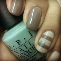 27 Trendy Nail Art Ideas for Fall- I really want a taupe color like that...or is it grey?