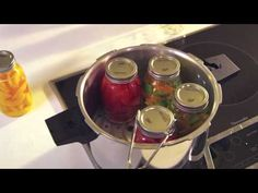Save the last of your summer vegetables and fruits by canning – here's a quick how-to.