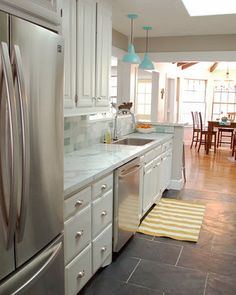 Take the Side Street: Kitchen Reveal with goooooorgeous tile