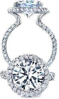 Unique Diamond Engagement rings meet style !   #unique #engagement #ring
