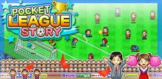 Pocket League Story - Another addictive game from Kairosoft, this time for the footie fans out there! addict game, pocket leagu, pockets, android game, leagu stori