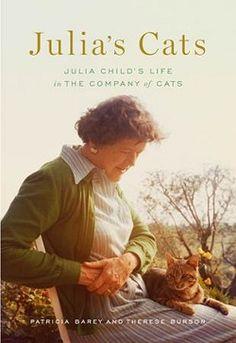 cats, books, julia child book, julia cat, child cat