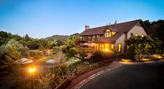 The Wine Country Inn in St.Helena, CA.. Napa Valley's original bed and breakfast is surrounded by vineyards.