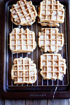 Sugar Cookie Waffles on MyRecipeMagic.com