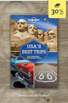 Discover the freedom of the open road with USA's Best Trips. Whether you want to explore the Pacific Coast Highways, Route 66 or the Rocky Mountains, we've got the trip for you. | CLICK THROUGH AND ENTER THE PROMO CODE FOR 30% OFF THIS TITLE #lproadtrip