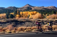 Autumn riding in North Lake Tahoe