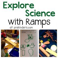 Exploring Ramps in Pre-K