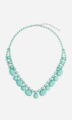 Mint Jewel Necklace