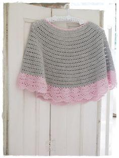 drop pattern, crochet poncho free pattern