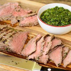 Chimichurri Skirt Steak for #SundaySupper #ChooseDreams
