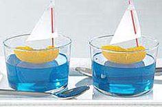 tangerine/jello sailboats