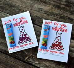 Love Potion Valentines - Free printable!