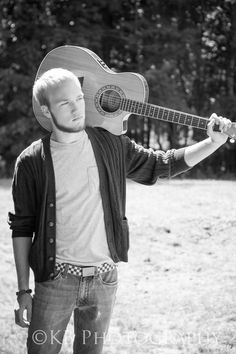 (c) Kristine Blum guitar music photography seniors