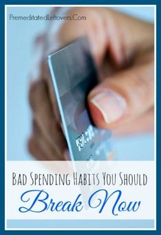 Trying to save money? Try these money saving tips to break bad spending habits that drain your finances, cut out unnecessary expenses, and save more money.