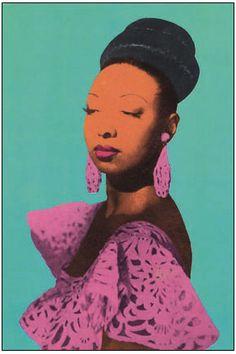Josephine Baker by Warhol.