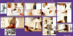 cake tutorial, cake secret, corset, 3d cake, decor cake