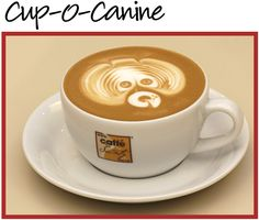 Dog Coffee Latte Dog Mugs