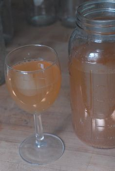 How to make kefir water (homemade soda...so good for you!)