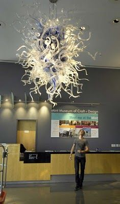 Dale Chihuly light fixture
