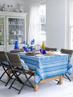 dinning room...blue