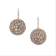 Fossil Rose Gold Earrings