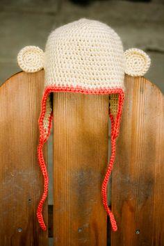 Crocheted Monkey Hats!