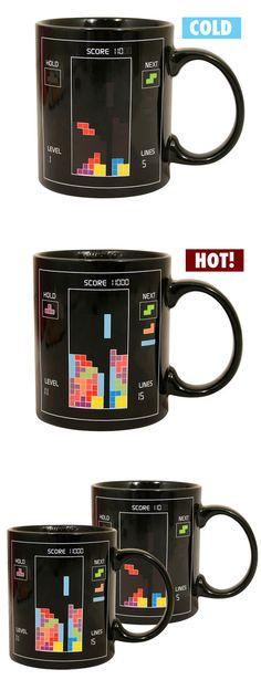 Tetris Heat Changing Mug ♥