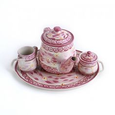 temp-tations® by Tara: temp-tations® Old World 4-pc. Tea Set    I collect Temptations   and love them all. Check out QVC's program guide.