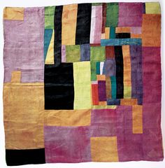 Korean patchwork scarf, period of the Chosun Dynasty quilt, textile art