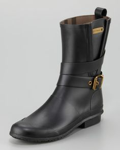 Motorcycle Rainboot by Burberry