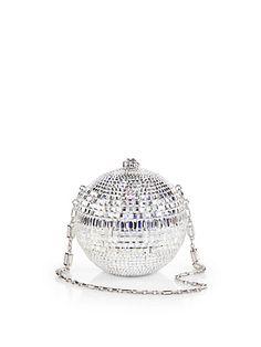 Disco Ball Bag (Ballroom Crystal Sphere) by Judith Leiber